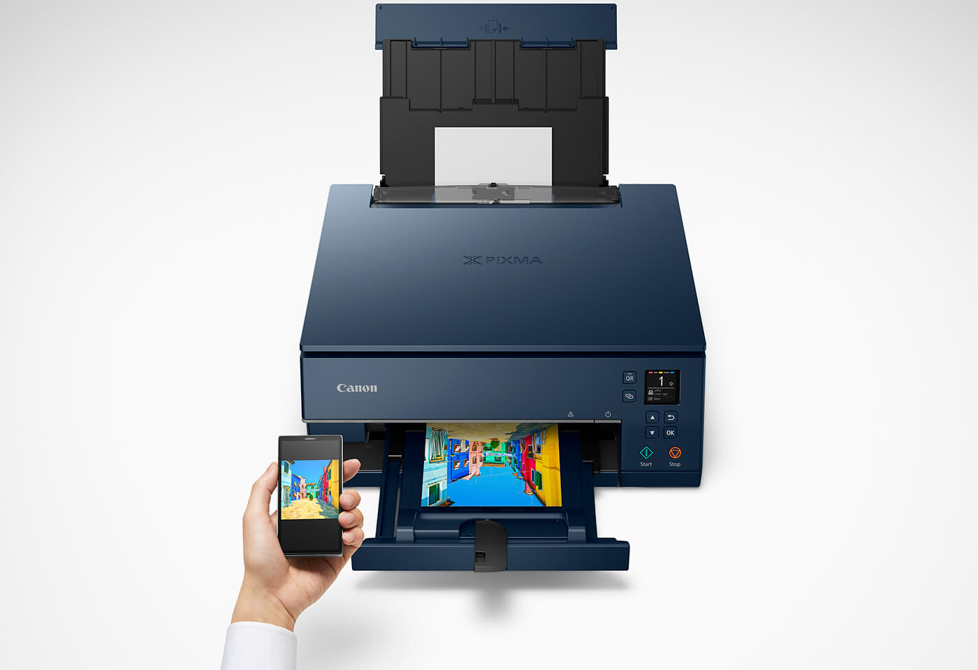 Print using PIXMA HOME TS6365 wirelessly