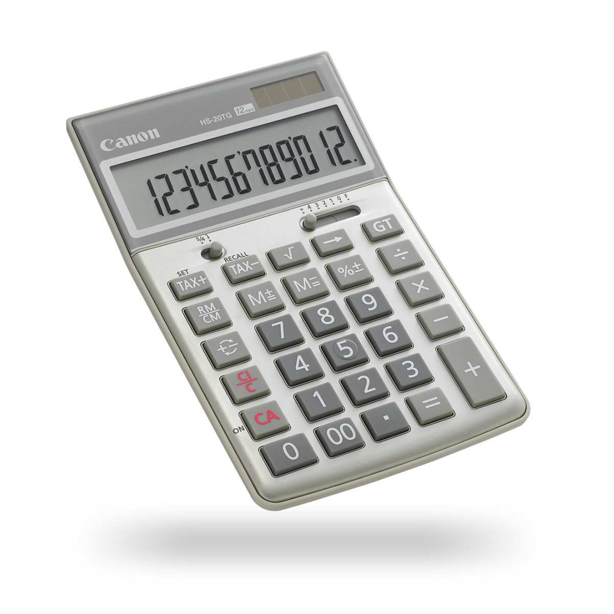 Canon HS-20TG calculator