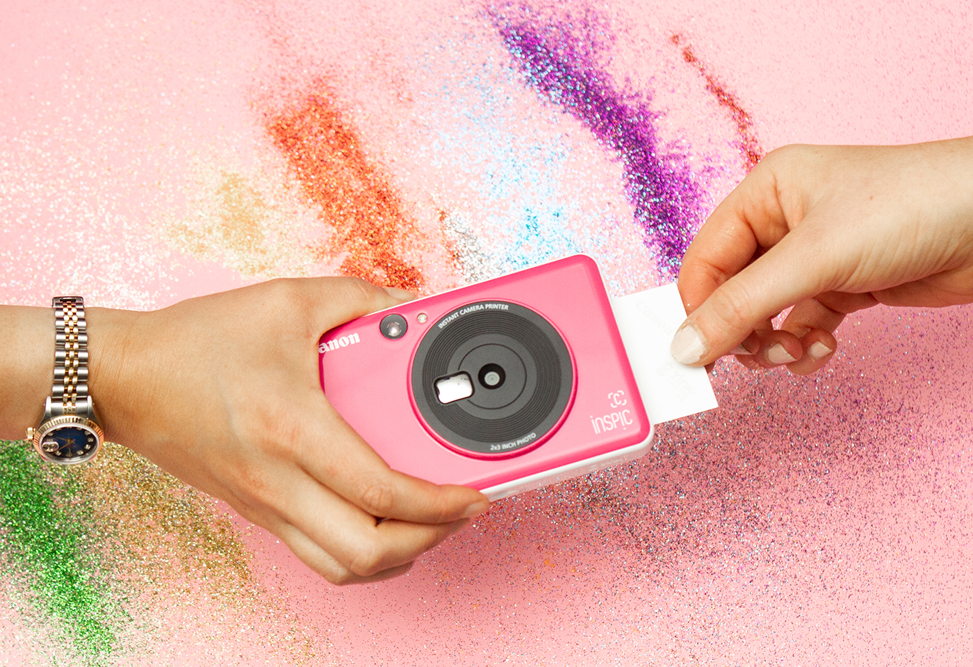 Inspic C Bubblegum Pink - easily reprint photos