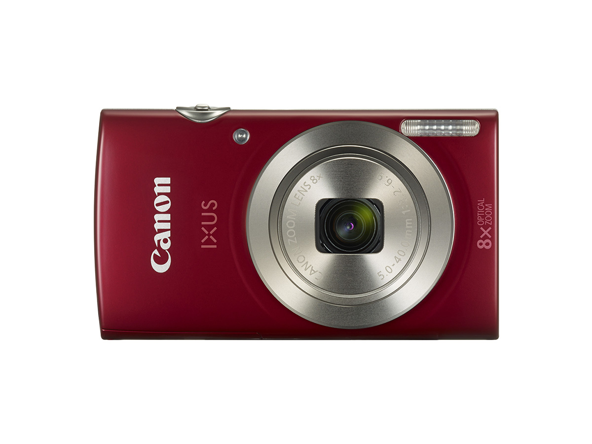 Canon IXUS 175 digital compact camera red front