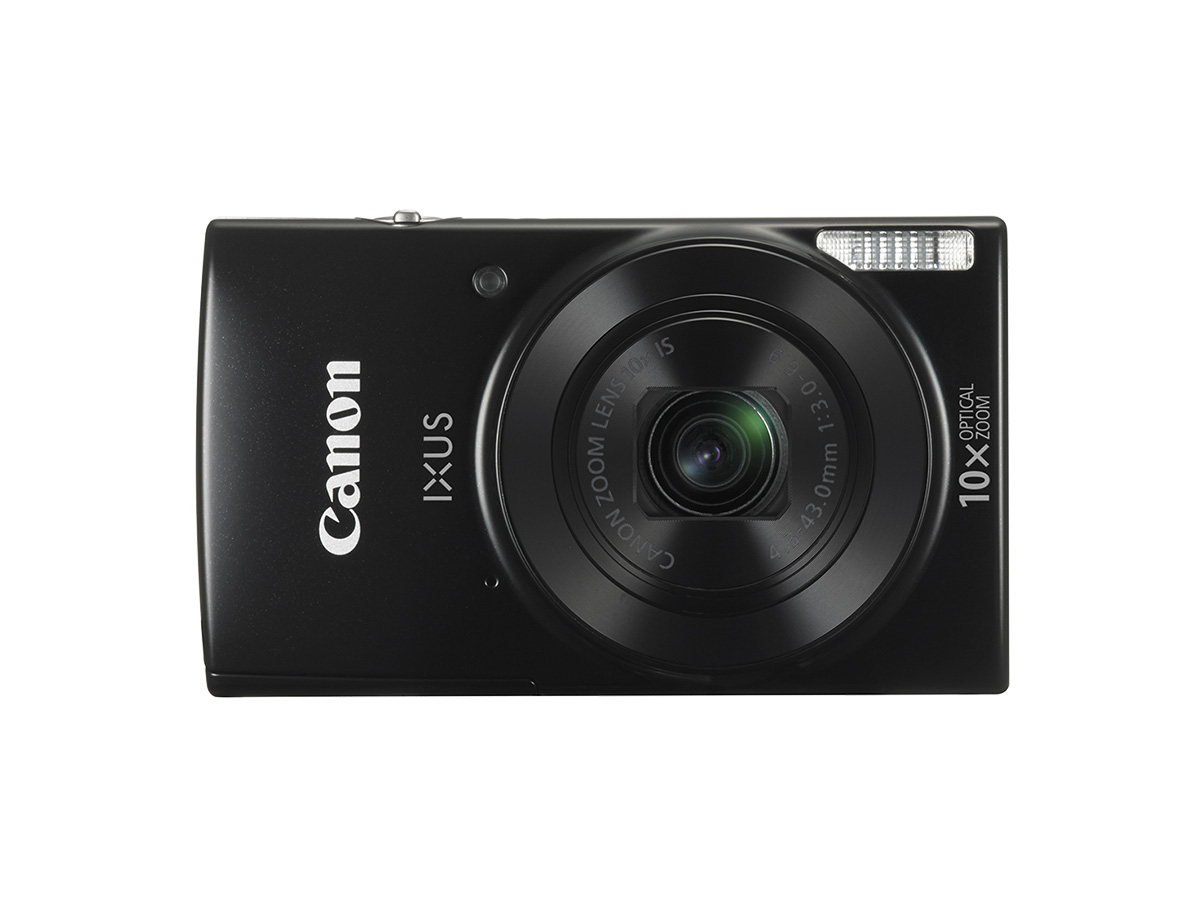 Canon IXUS 180 digital compact camera black front