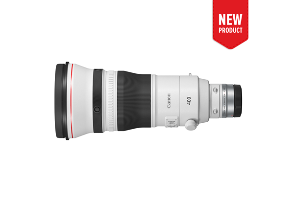 Product image of the new RF 400mm f/2.8 L IS USM telephoto lens