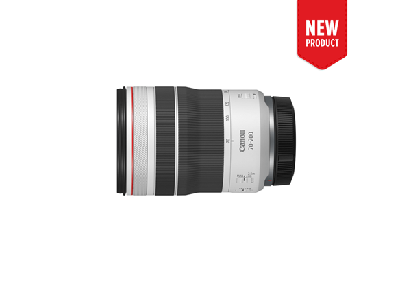 Product image of the new RF 70-200mm f/4 L IS USM telephoto lens