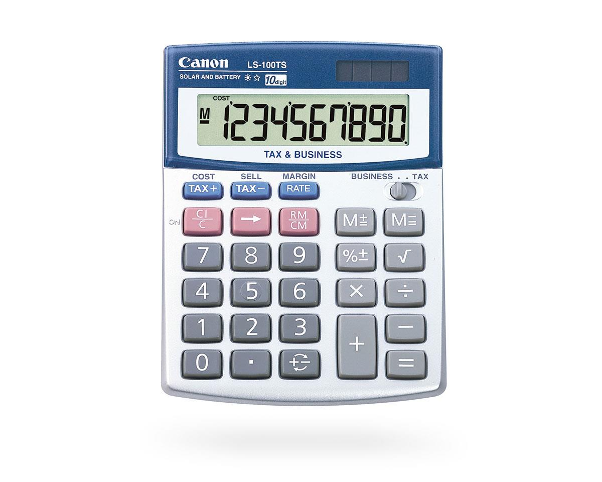 LS-100TS Calculator
