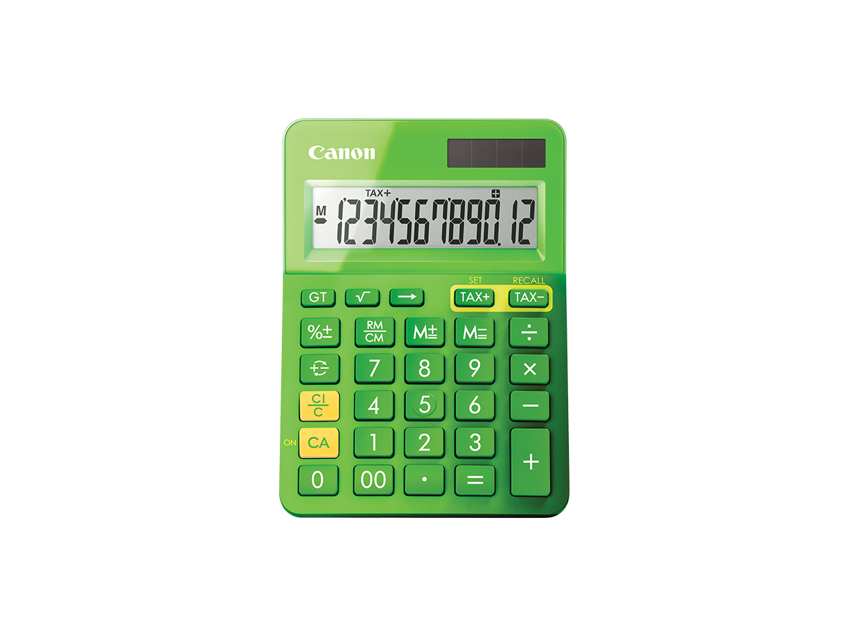 LS-123K calculator green front