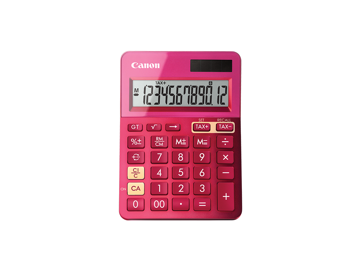 LS-123K calculator pink front
