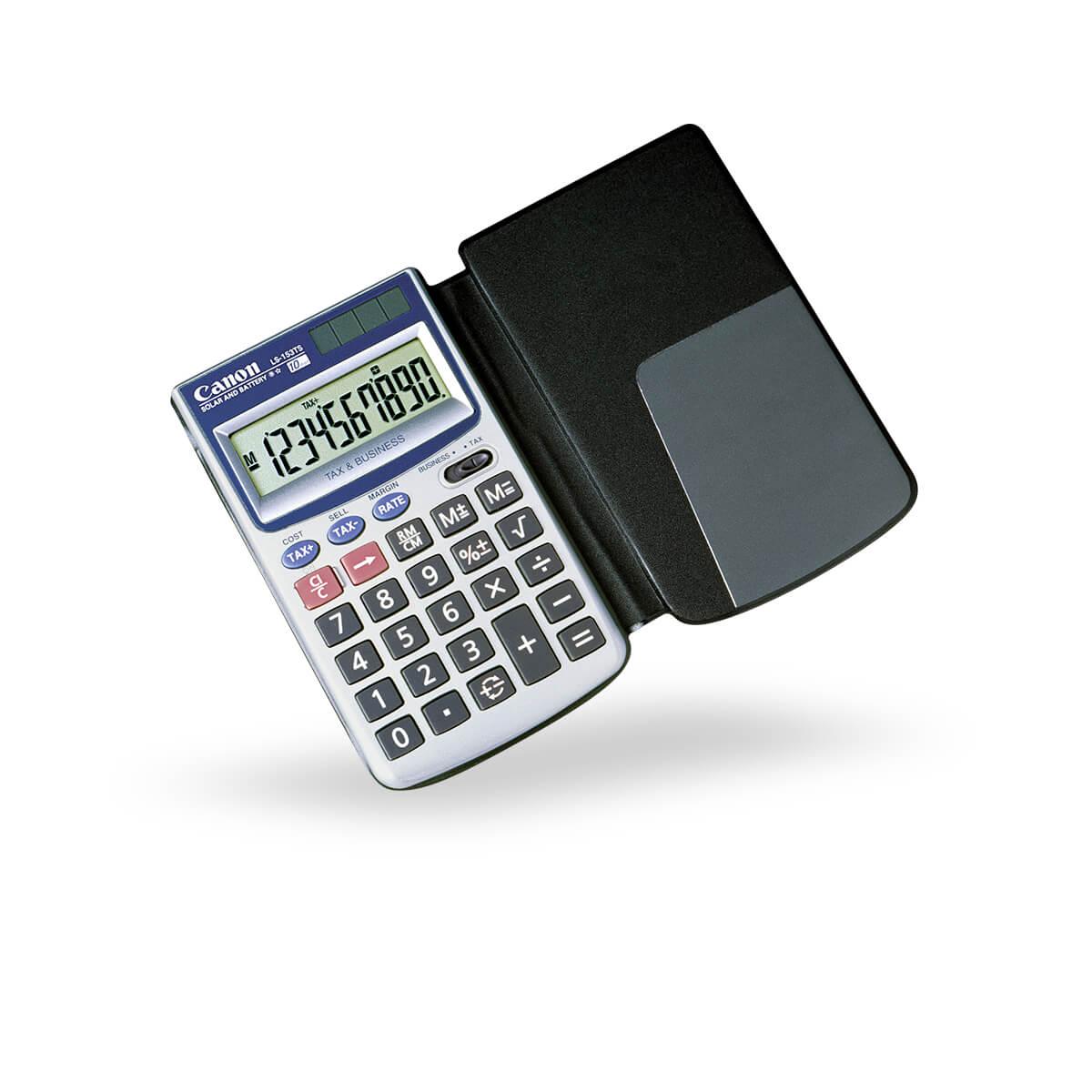 Canon LS-153TS business pocket calculator