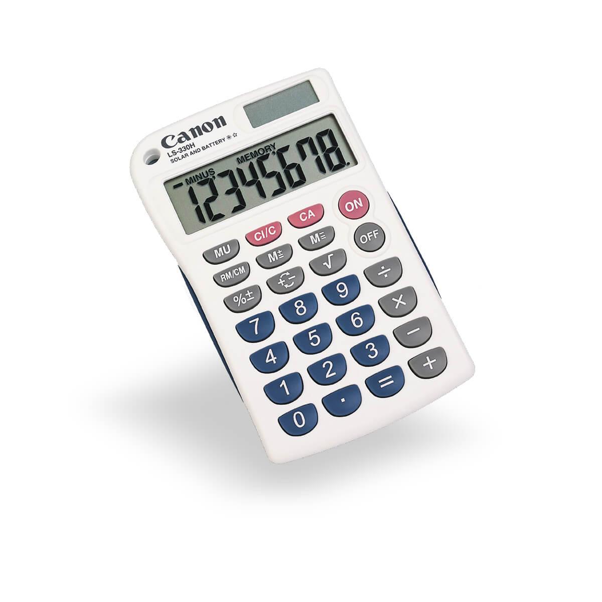 Canon LS-330H lightweight pocket calculator