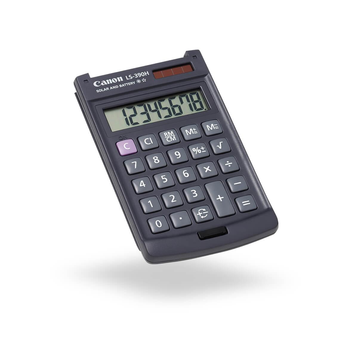 Canon LS-390H pocket calculator