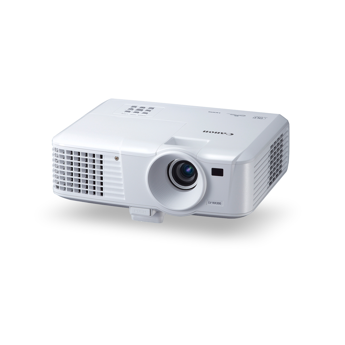 Canon white LV-WX300 projector