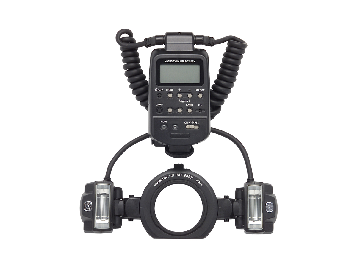 Canon Macro Twin Lite MT-24EX lighting system