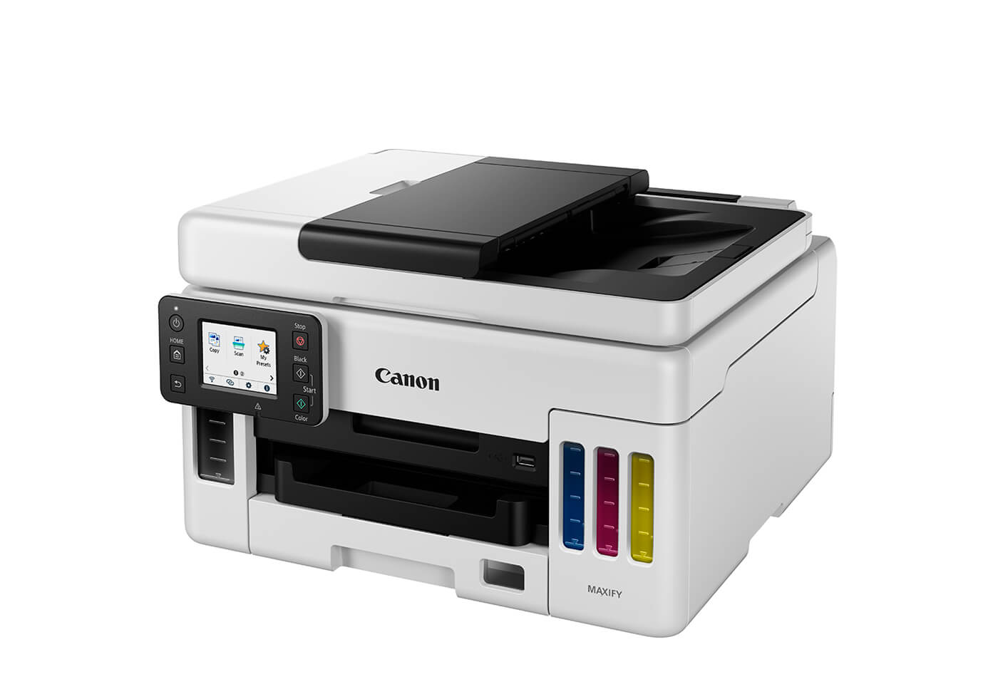 Side profile image of MAXIFY GX6060 MegaTank office printer