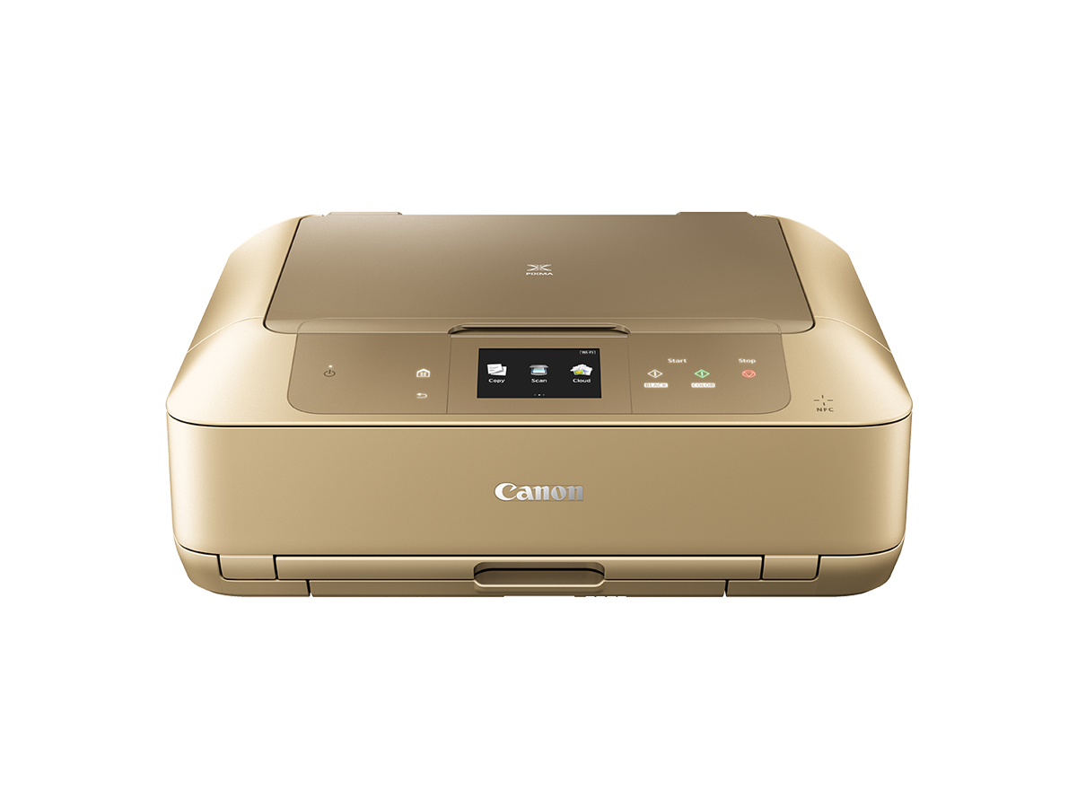 Canon PIXMA MG7766 Inkjet All-in-One printer gold front