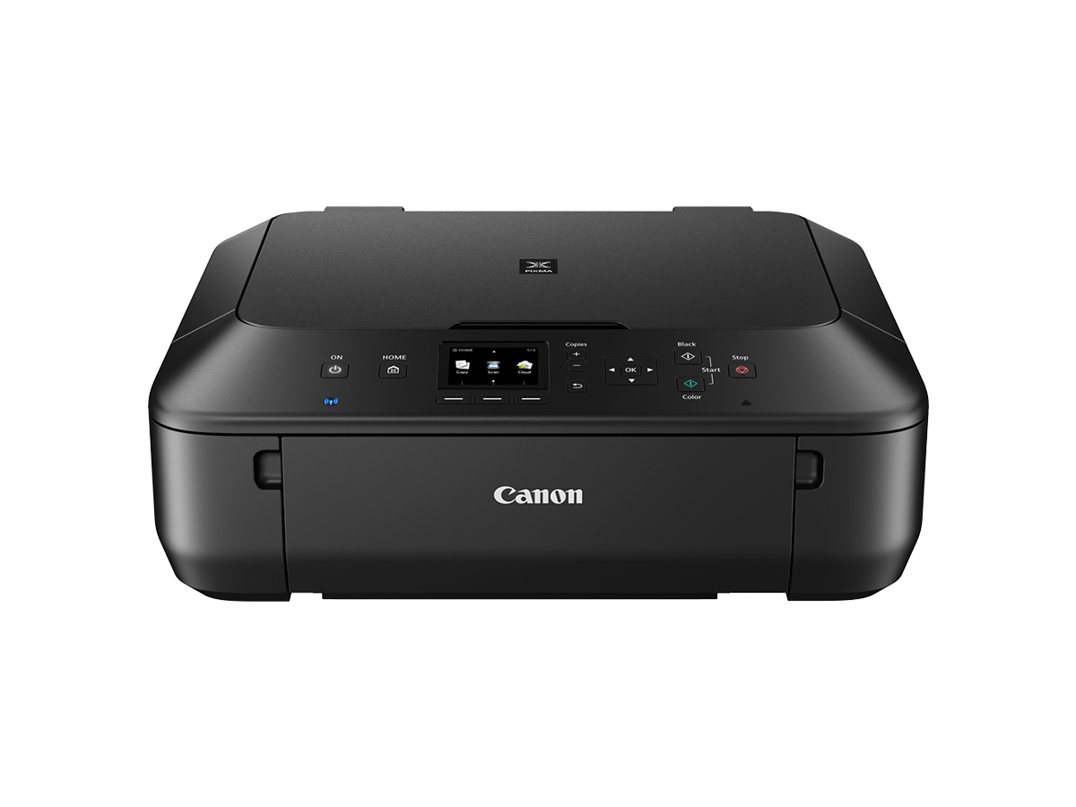 Canon PIXMA MG5660 black closed front