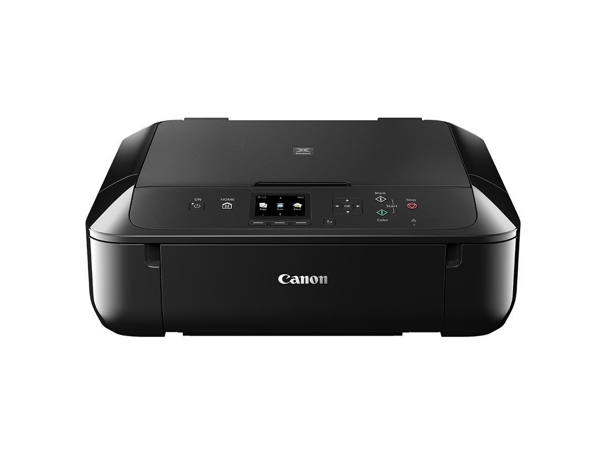 Canon PIXMA MG5760 Inkjet All-in-One printer black front