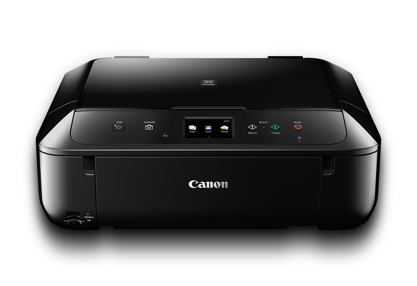 Canon PIXMA MG6860 Inkjet All-in-One printer black front