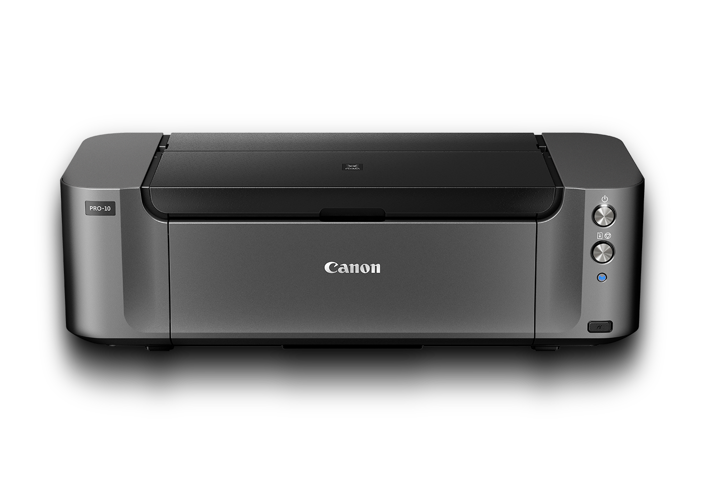 pixma pro-10 black front with shadow