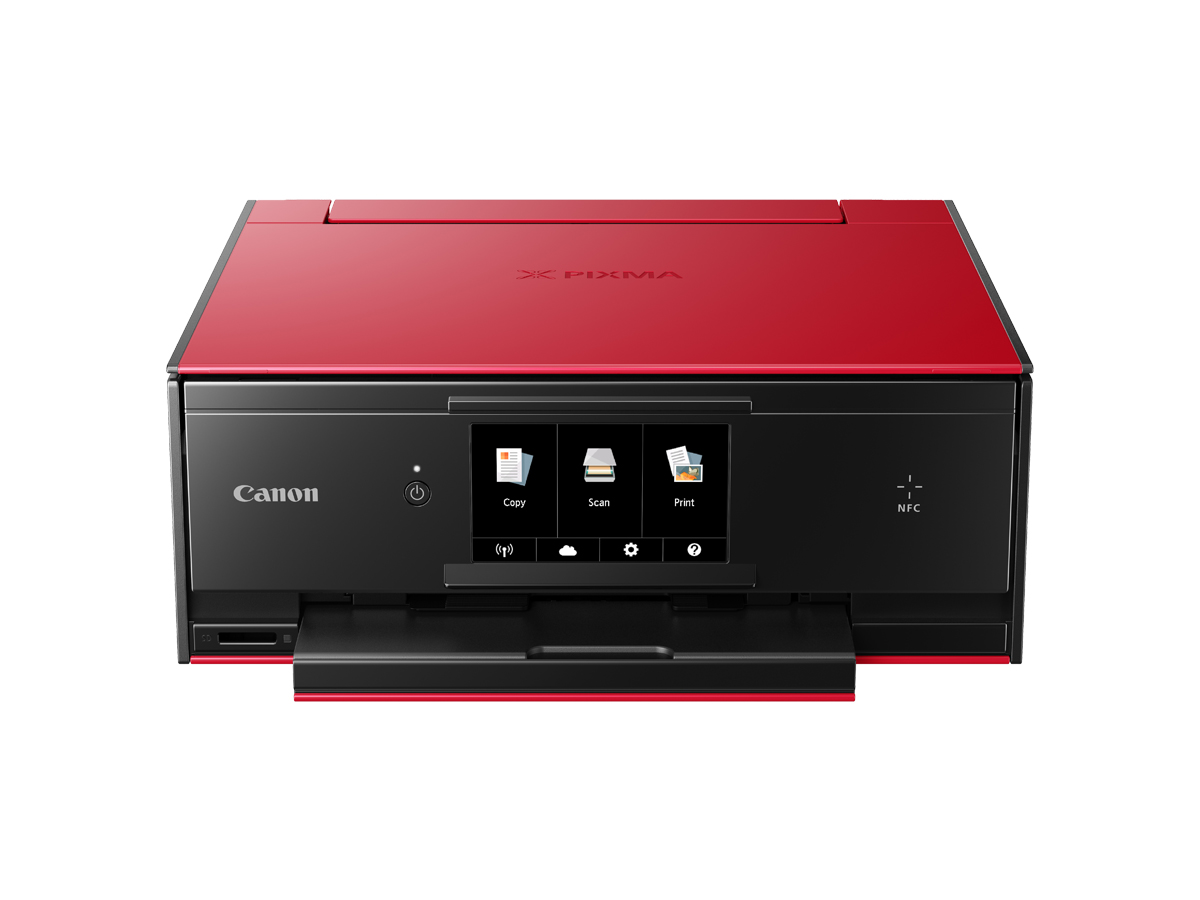 PIXMA TS9060 red front