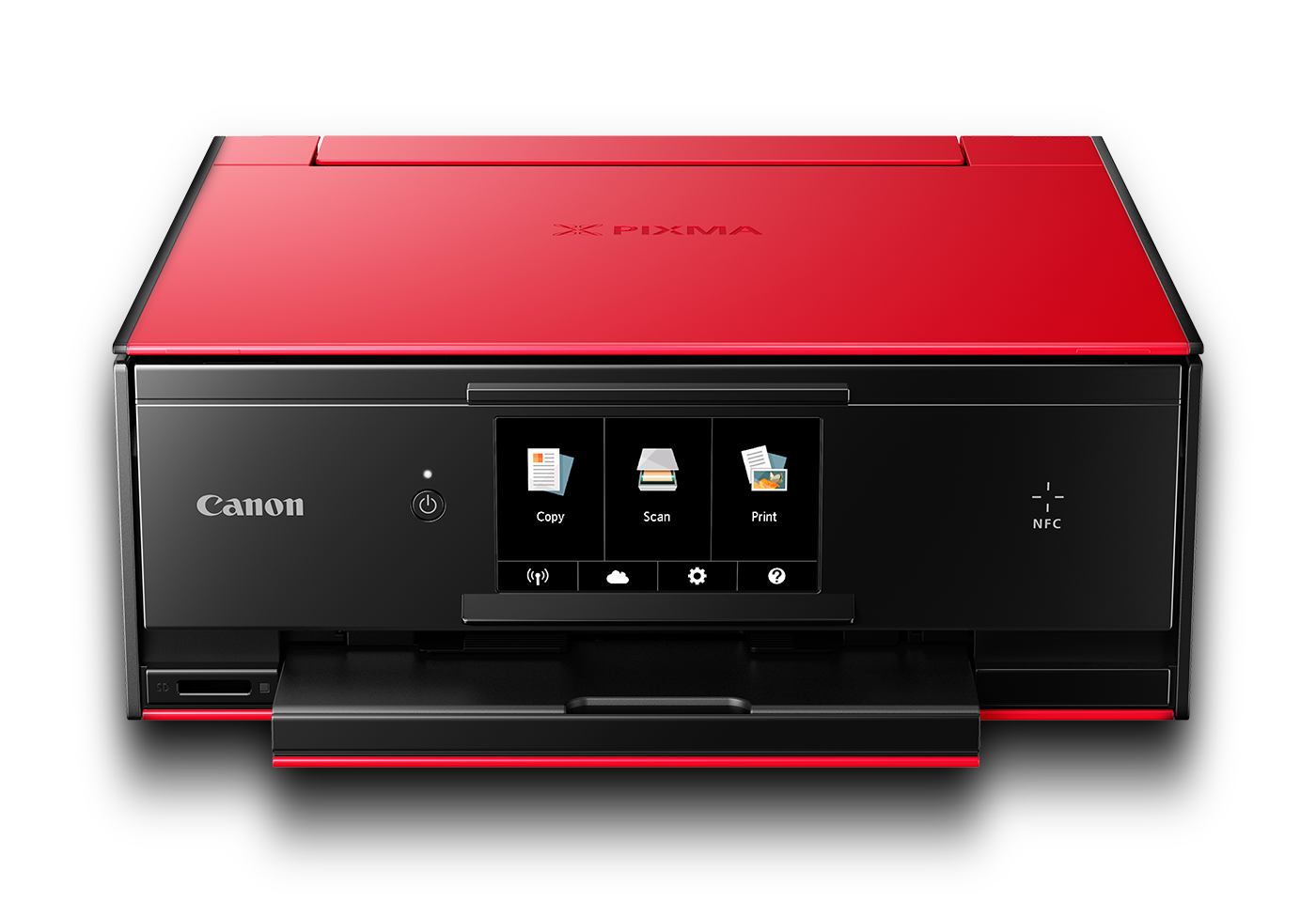 PIXMA TS9060 red front with shadow