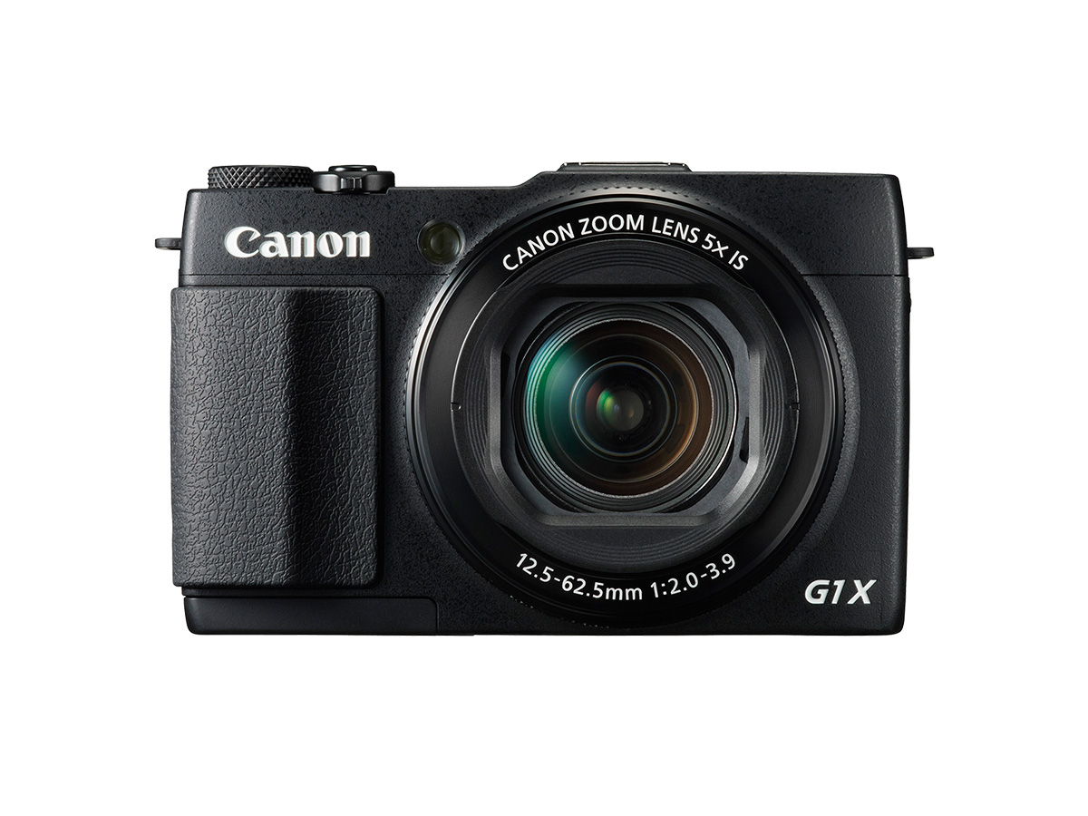Canon PowerShot G1X Mark II Digital Camera - Front View