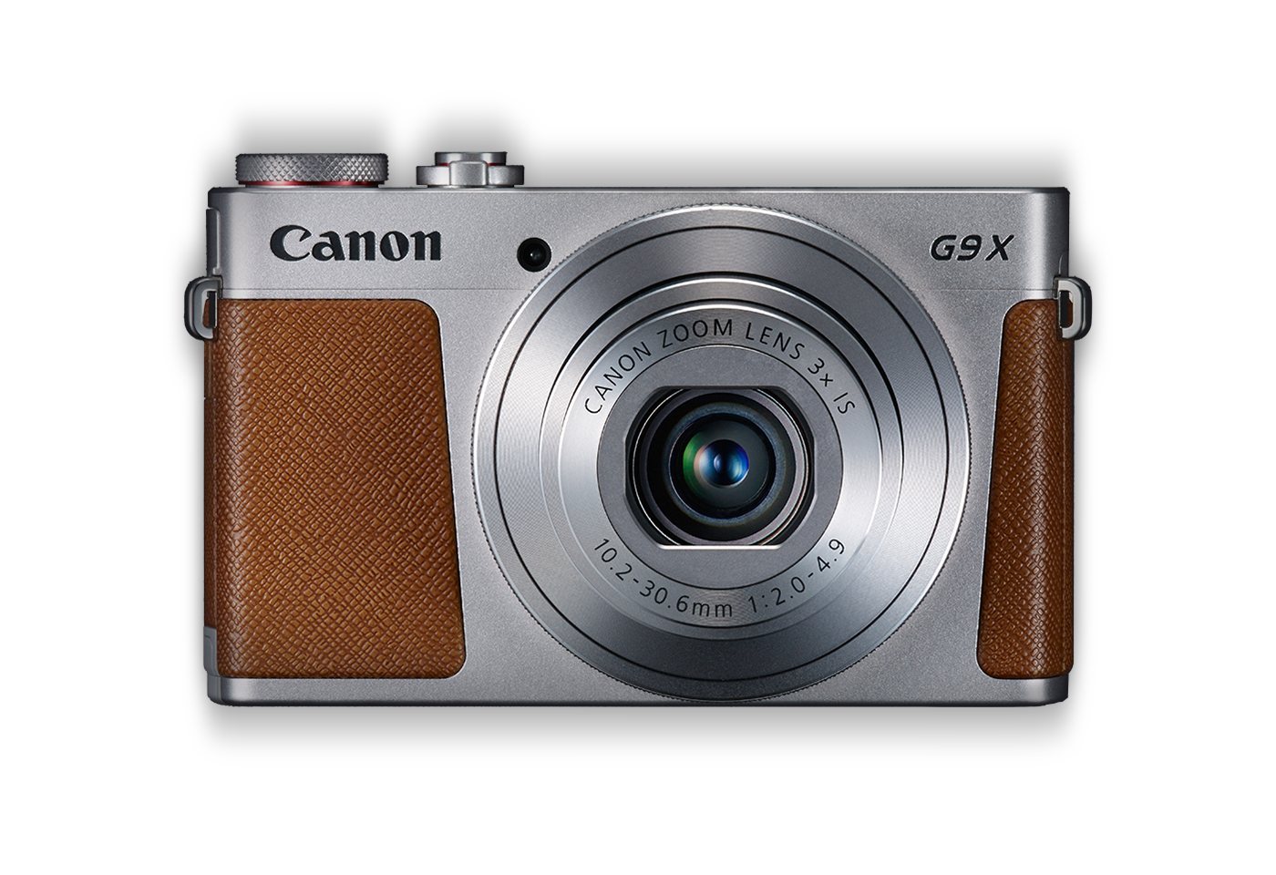 Canon PowerShot G9 X silver front