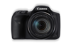 Canon PowerShot SX540 HS digital compact camera black front