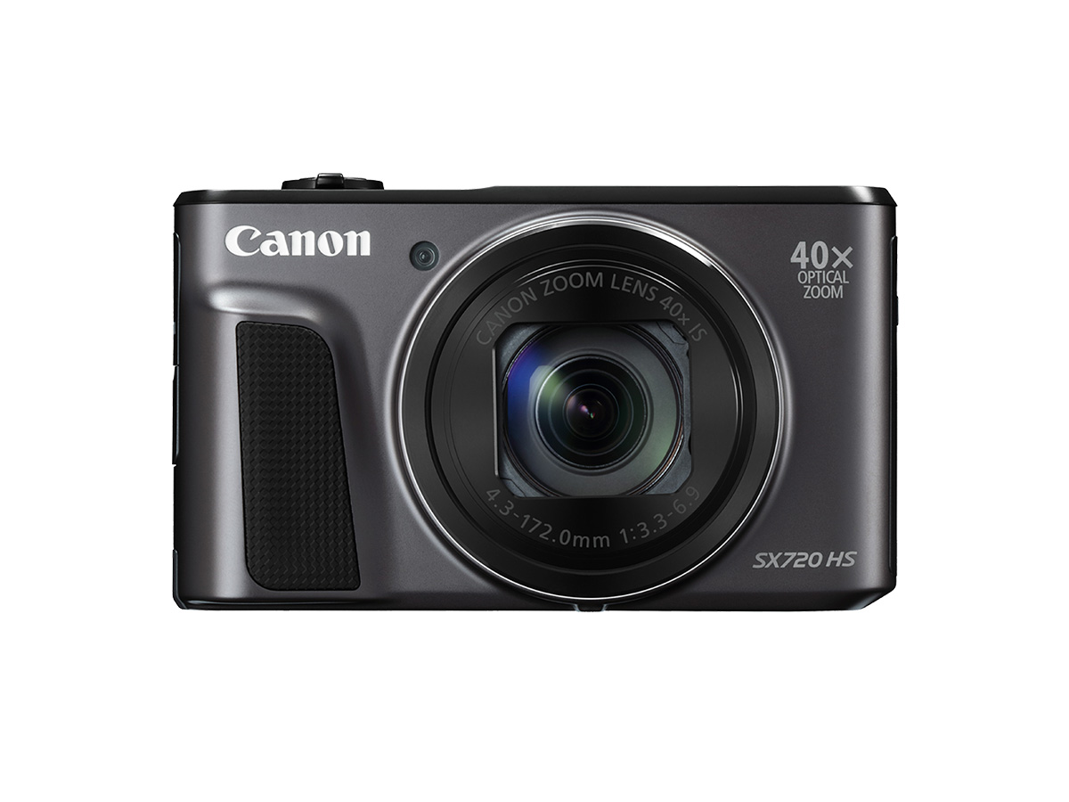 PowerShot SX720 HS compact camera black front