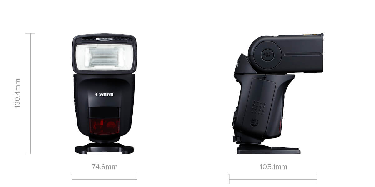 Product specs image of 470EX-AI Speedlite