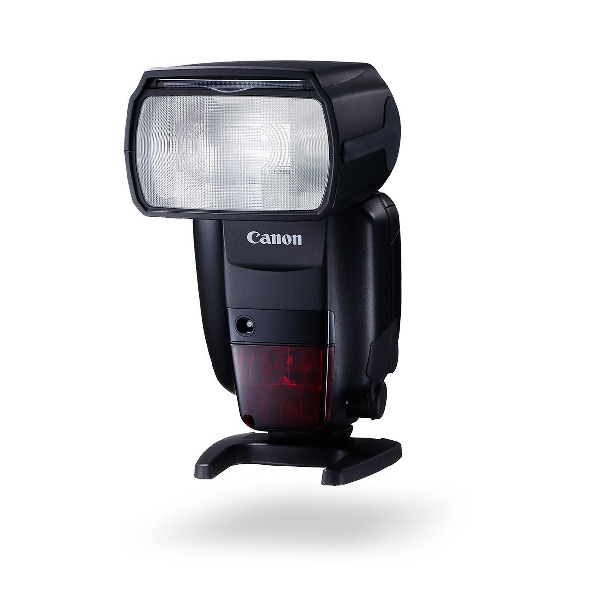 Canon Speedlite 600EX II-RT angled forward