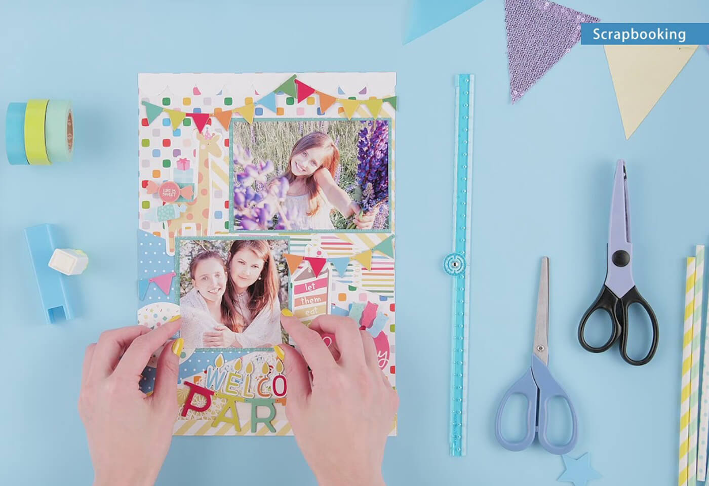 Scrapbooking using the PIXMA HOME TS9560