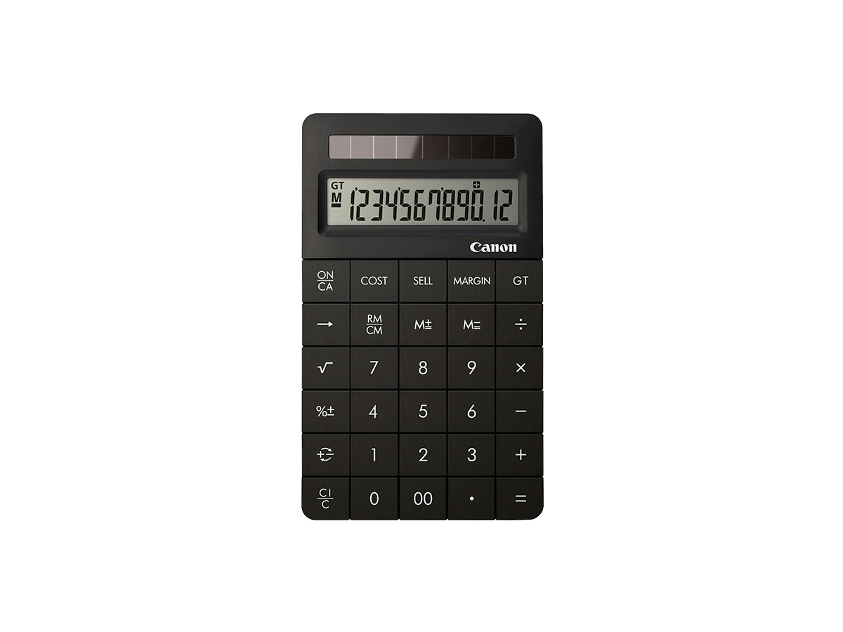 Canon X Mark II black calculator