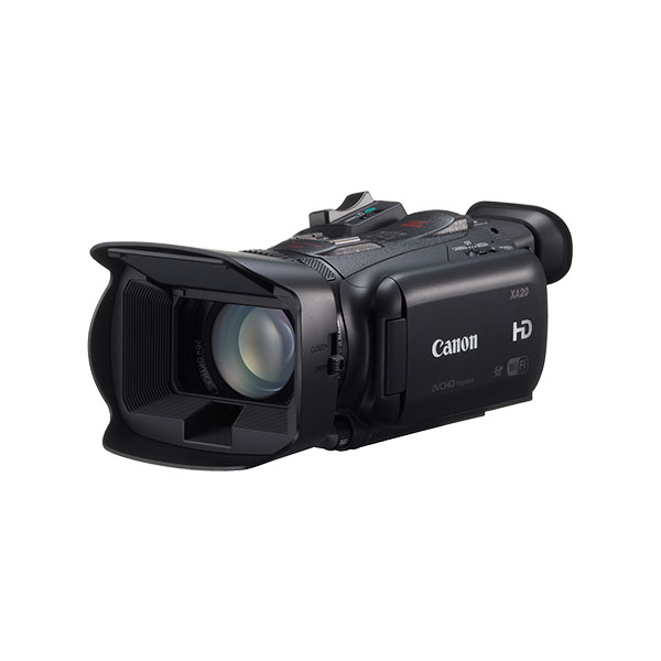 Canon XA20 Digital Video Camera - Angled Front View