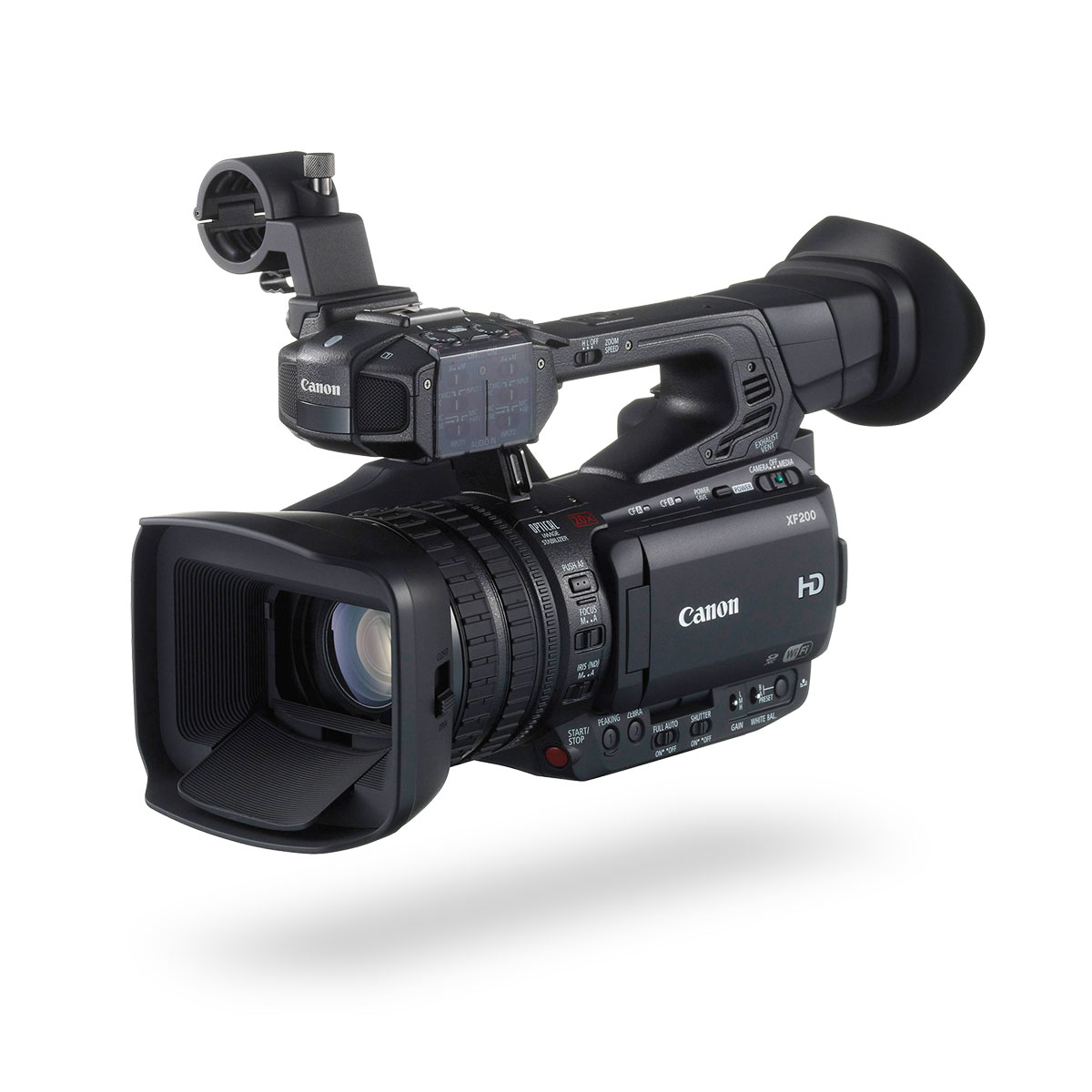 Canon XF200 Digital Video Camera - Front View