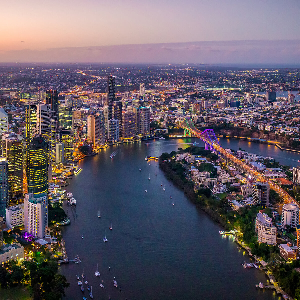 Image of Brisbane River