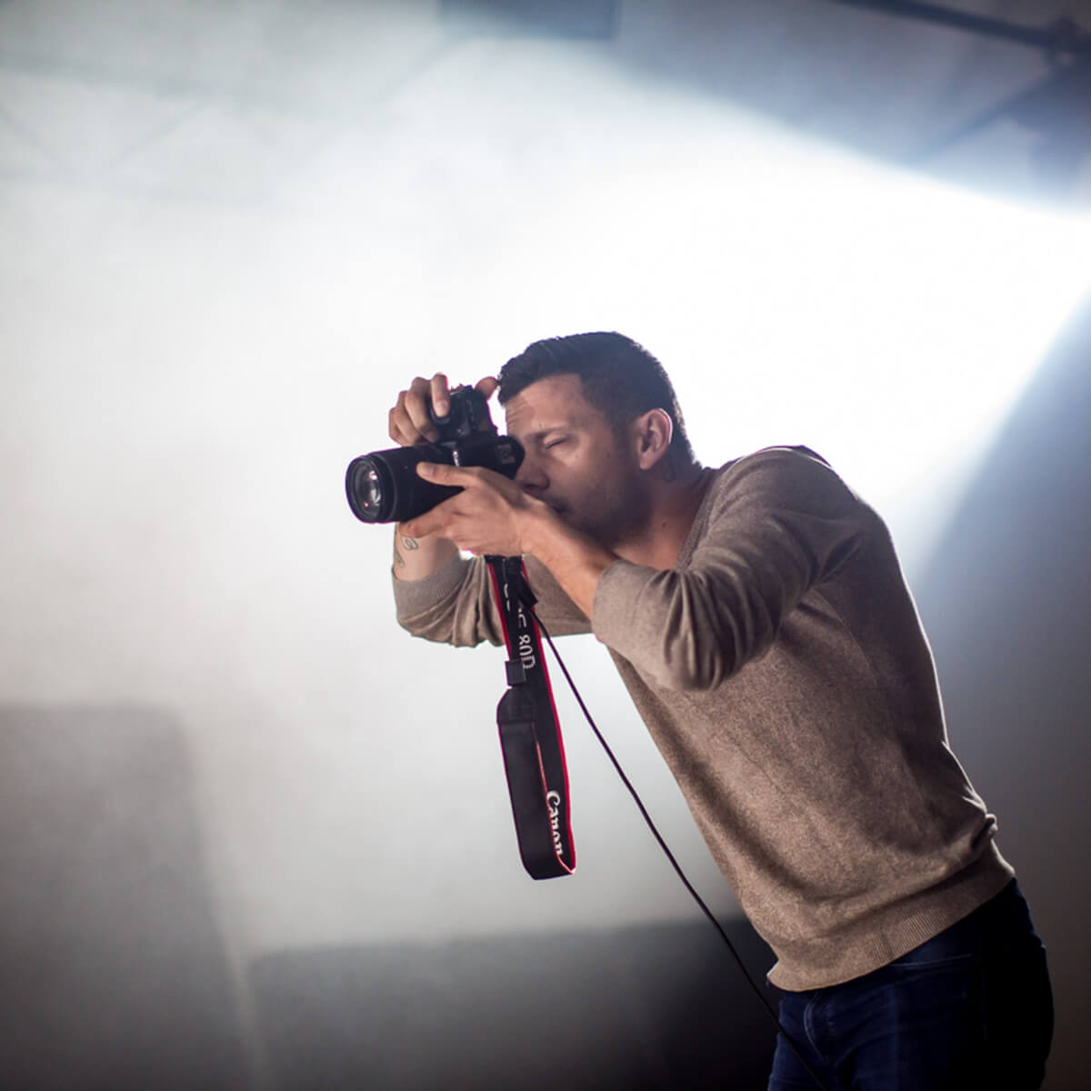 Image of Canon Master Ryan Schembri running a Masterclass