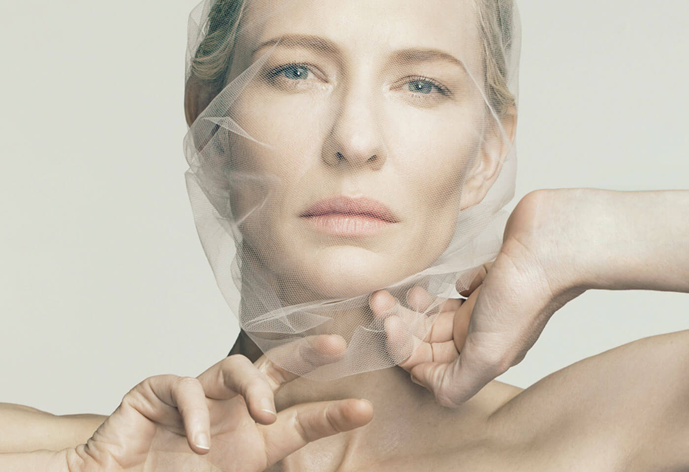Portrait of Cate Blanchett by Michele Aboud