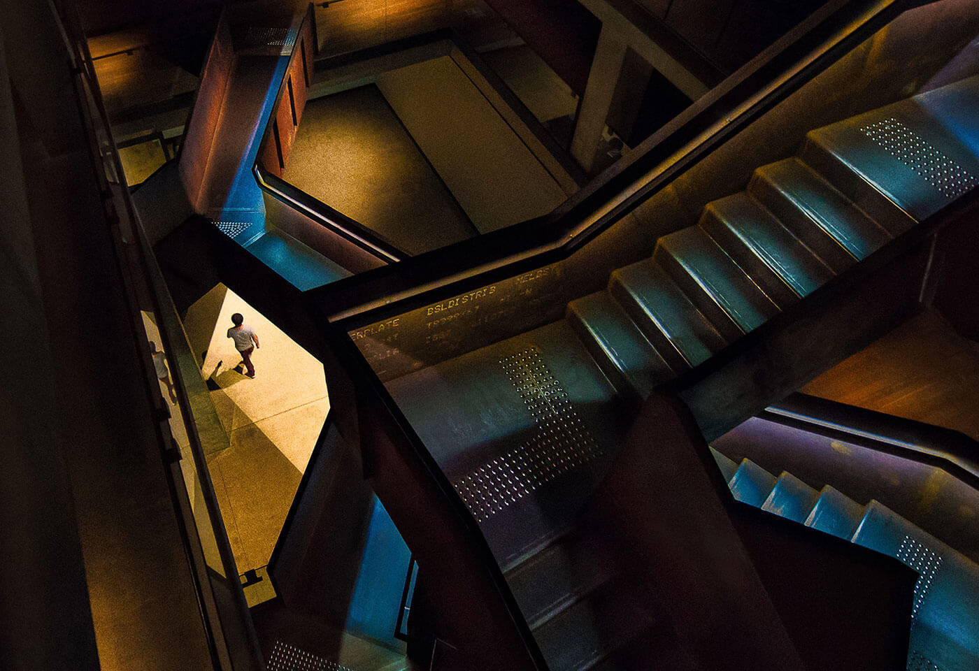 Image of stairs by Steve Scalone