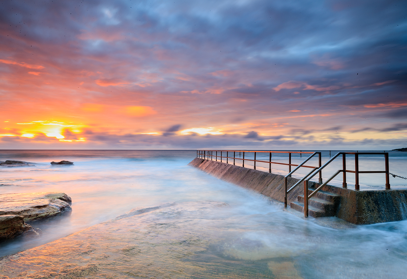 Landscape image of Cronulla beach