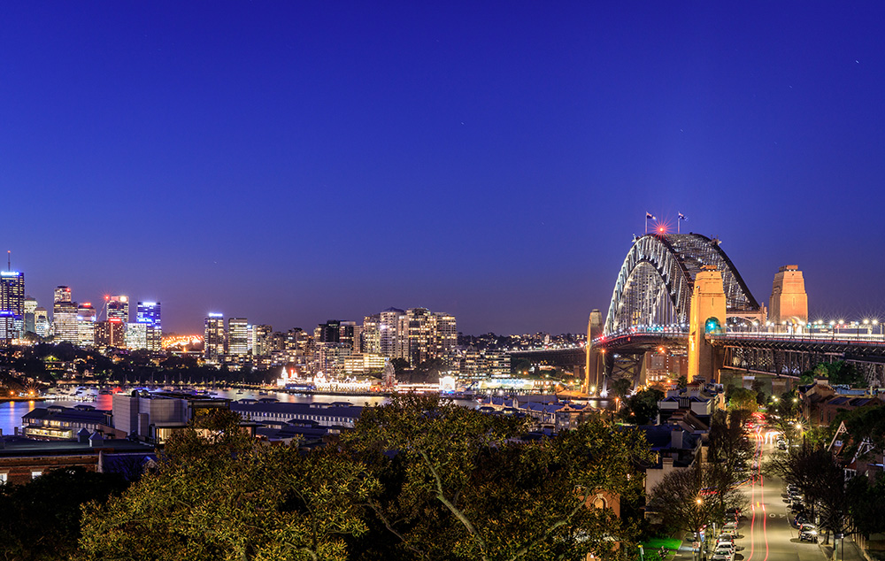 Landscape image of Sydney City