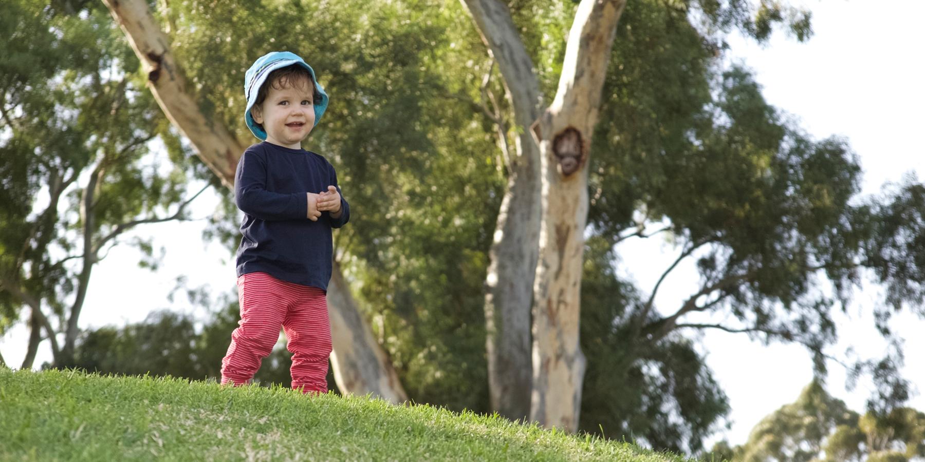 kid at park image