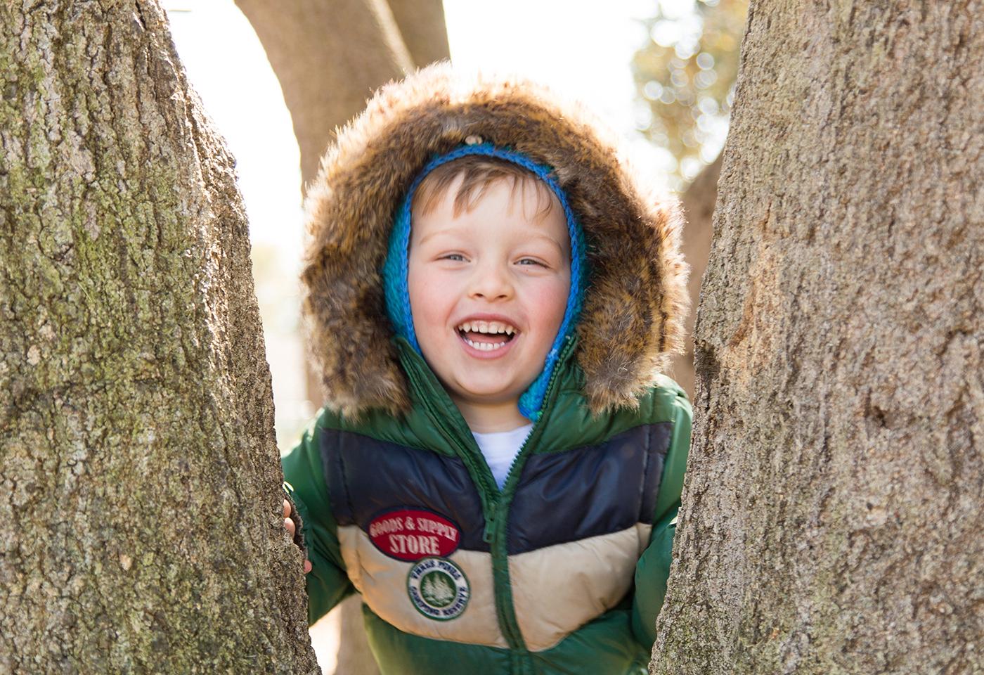 kid in park image
