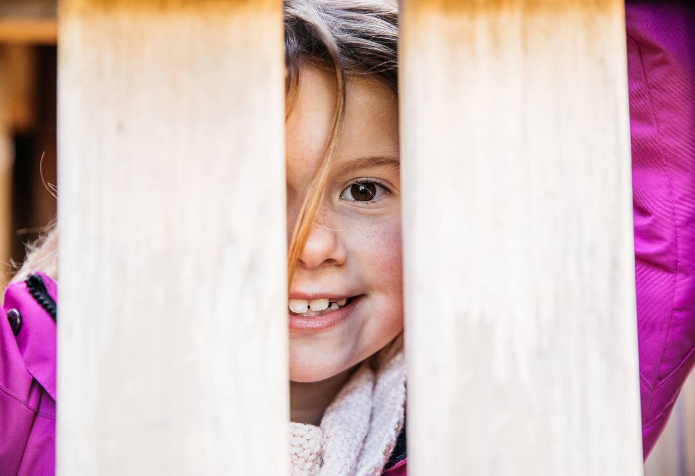 Image of child smiling
