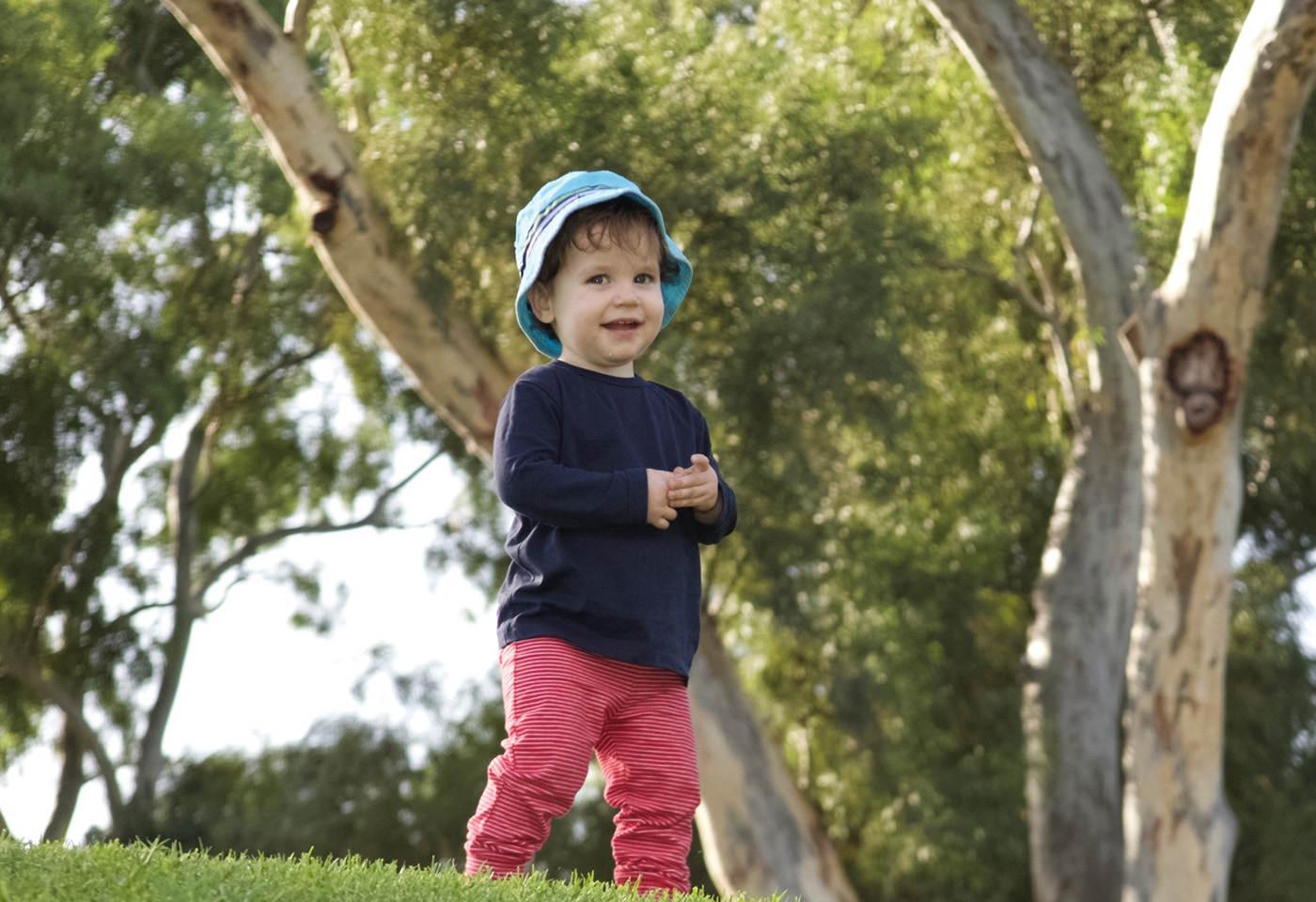 Image of kid in the park