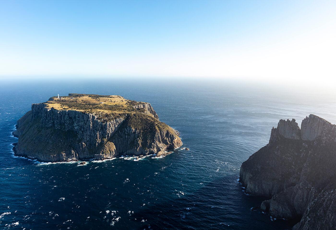 Aerial image of Tasman Sea