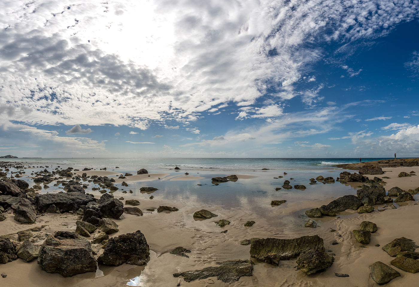 image of Champagne Pools at Moreton island