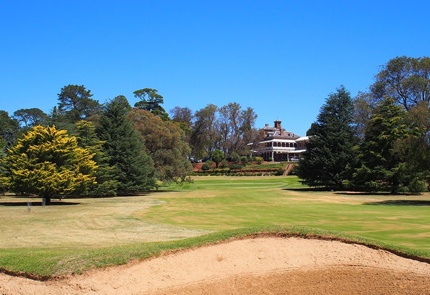 Duntryleague Mansion Golf Green