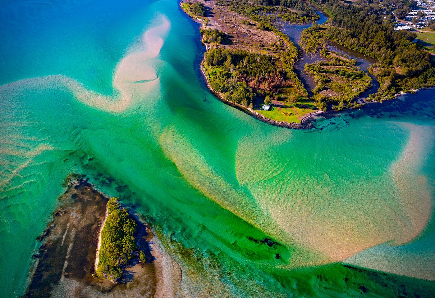 Aerial Image of Lake