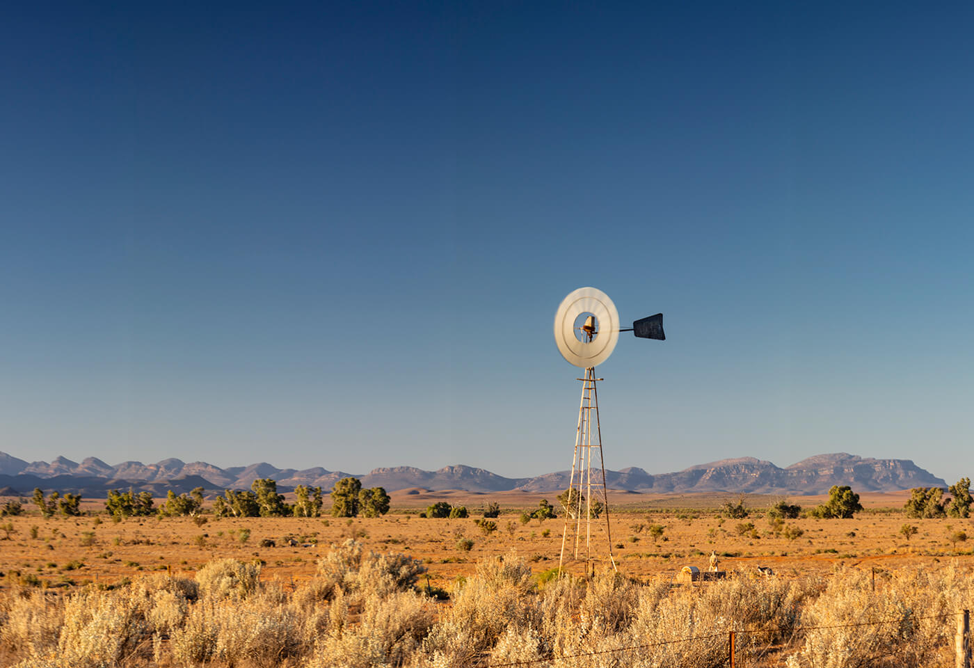 Panorama Photography at Alice Springs by Steve Huddy