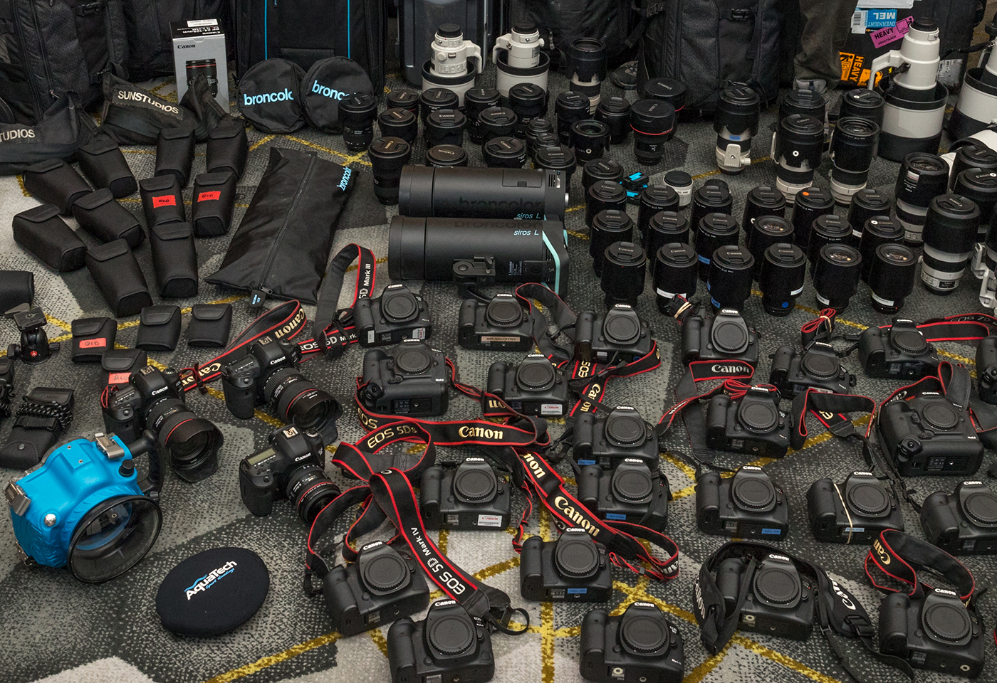 Image of EOS cameras and lenses