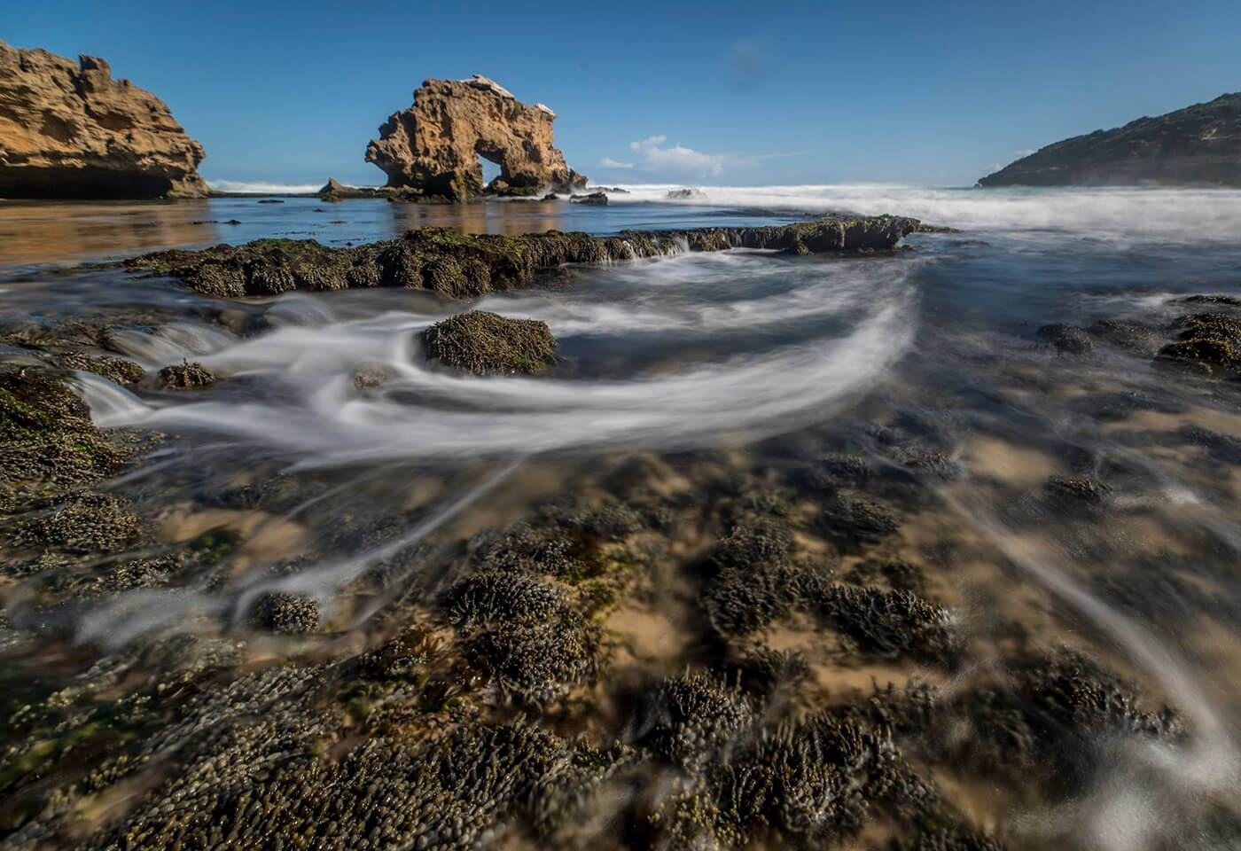 long exposure ocean landscapes image by Jay Collier